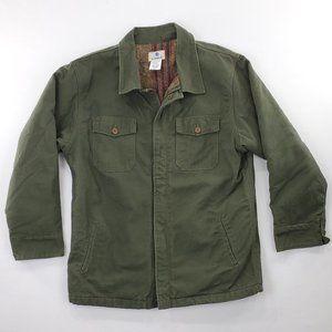 Vtg VF Imagewear Flannel Lined Duck Canvas Jacket